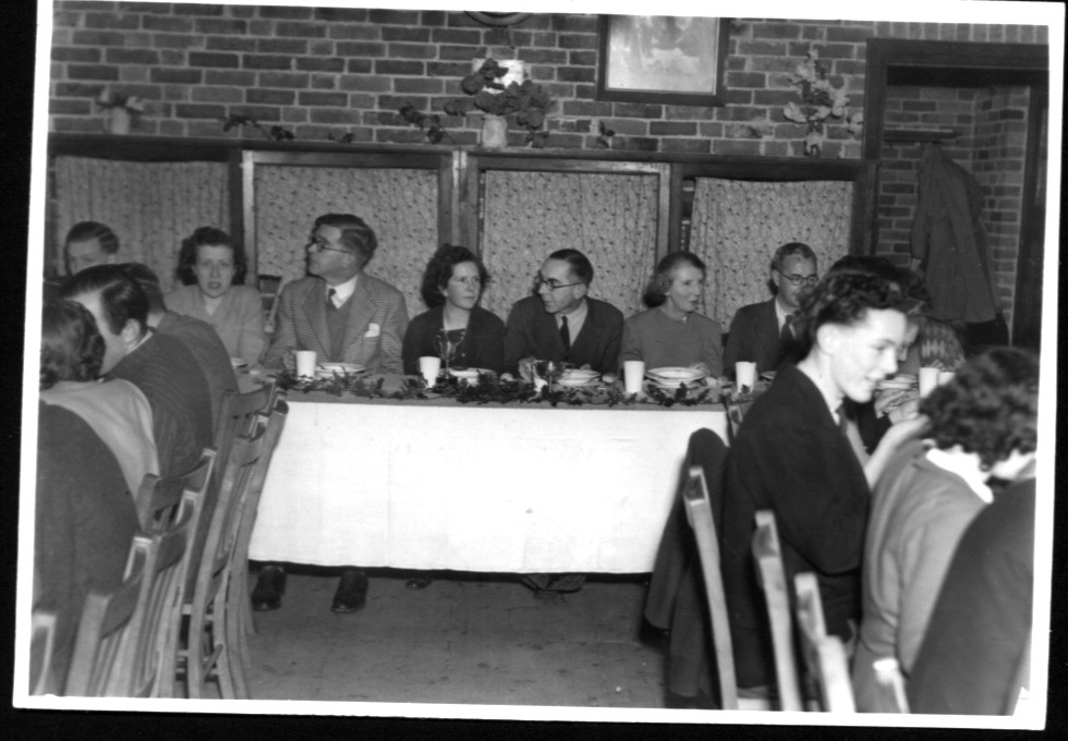 Youth Fellowship Banquet 4th Jan 1949